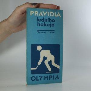 náhled knihy - Pravidla ledního hokeje. Platné od 1. července 1986