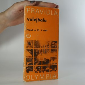 náhled knihy - Pravidla volejbalu. Platná od 23.1.1981