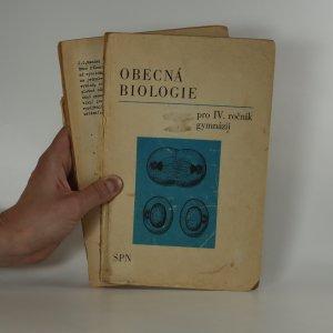 náhled knihy - Obecná biologie pro IV. ročník gymnázií (viz foto a stav)