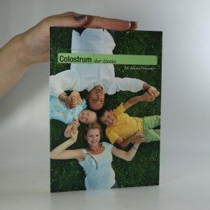 náhled knihy - Colostrum. dar života