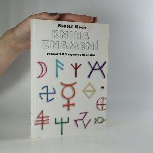 náhled knihy - Kniha znamení. Výklad 493 tajemných znaků