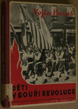 náhled knihy - Děti v bouři revoluce : literární obraz práce a bojů amerických Čechoslováků za svobodnou domovinu