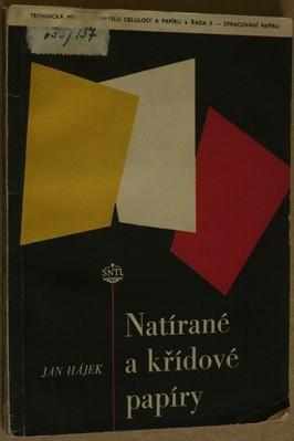 náhled knihy - Natírané a křídové papíry