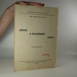 náhled knihy - Lidové a společenské tance