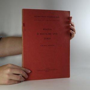 náhled knihy - Bradla o nestejné výši žerdi