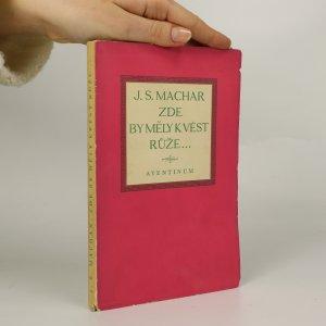 náhled knihy - Zde by měly kvést růže...