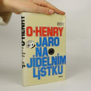 náhled knihy - Jaro na jídelním lístku