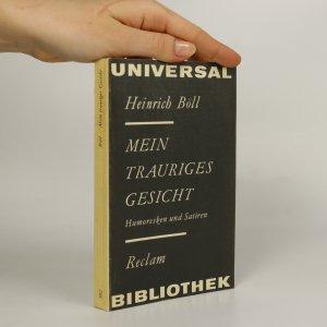 náhled knihy - Mein trauriges Gesicht