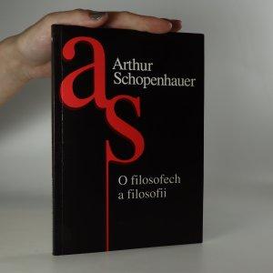náhled knihy - O filosofii a filosofech