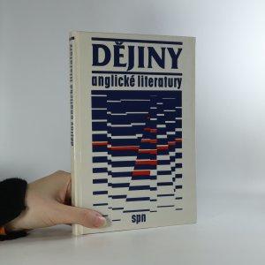 náhled knihy - Dějiny anglické literatury