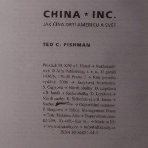 antikvární kniha China, Inc. Jak Čína drtí Ameriku a svět, 2006
