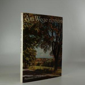 náhled knihy - Am Wege notiert