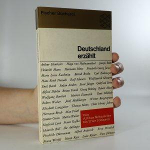 náhled knihy - Deutschland erzählt. Von Arthur Schnitzler bis Uwe Johnson