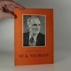 náhled knihy - Národní umělec St. K. Neumann