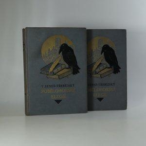 náhled knihy - Pobělohorské elegie I.-II. díl