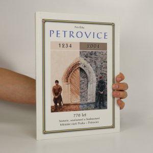 náhled knihy - Petrovice. 770 let (podpis a věnování autora)