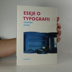 náhled knihy - Eseje o typografii