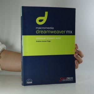 náhled knihy - Macromedia Dreamweaver MX. Oficiální výukový kurz