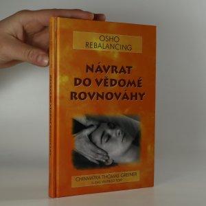náhled knihy - Návrat do vědomé rovnováhy