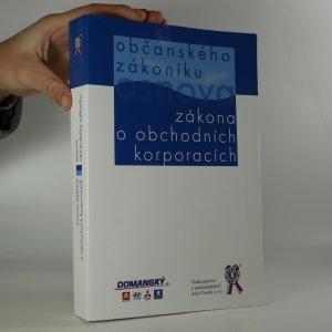 náhled knihy - Osnova zákona o obchodních korporacích