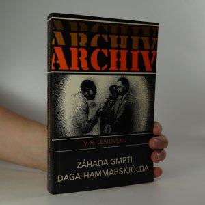 náhled knihy - Záhada smrti Daga Hammarskjölda