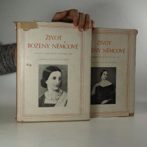 náhled knihy - Život Boženy Němcové. Dopisy a dokumenty I, II (2 svazky)
