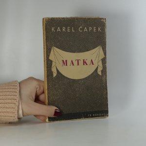 náhled knihy - Matka
