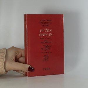 náhled knihy - Evžen Oněgin
