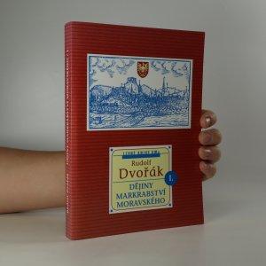 náhled knihy - Dějiny markrabství moravského