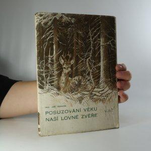 náhled knihy - Posuzování věku naší lovné zvěře