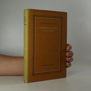 náhled knihy - Plukovník Chabert a jiné prózy