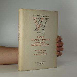 náhled knihy - Básně, balady a sonety věčného studenta Roberta Davida. 52 hořkých balad, 100 sonetů, 70 básní z podsvětí