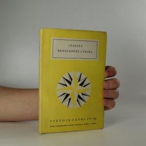 náhled knihy - Italská renesanční lyrika