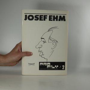 náhled knihy - Josef Ehm. Profily z prací mistrů československé fotografie 2 (na sešitu podpis Josefa Ehma)