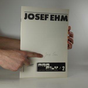 antikvární kniha Josef Ehm. Profily z prací mistrů československé fotografie 2 (na sešitu podpis Josefa Ehma), 1979