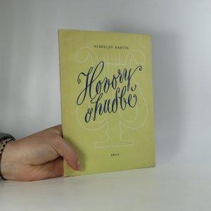 náhled knihy - Hovory o hudbě