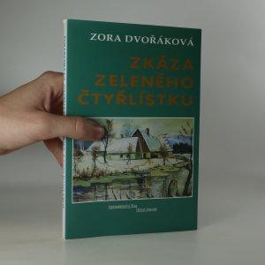 náhled knihy - Zkáza zeleného čtyřlístku