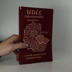 náhled knihy - Úděl česko-německého sousedství