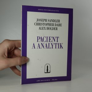 náhled knihy - Pacient a analytik