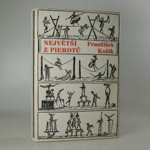 náhled knihy - Největší z Pierotů (věnování autora)