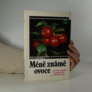 náhled knihy - Méně známé ovoce