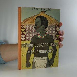 náhled knihy - Péťovo dobrodružství mezi černoušky
