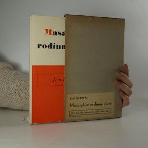 náhled knihy - Masarykův rodinný život
