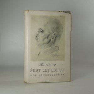 náhled knihy - Šest let exilu a druhé světové války