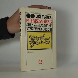 náhled knihy - Psí hvězda Sírius aneb Láskyplné vyprávěnky o psech (asi podpis ilustrátora)
