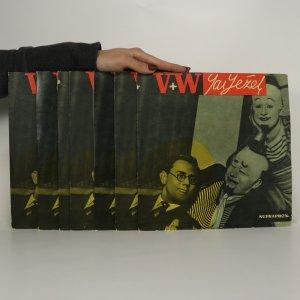 náhled knihy - Jaroslav Ježek - V + W: Dokumentární snímky z repertoáru Osvobozeného divadla 1928 - 1938 (14 stran, komplet)