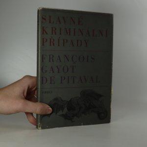 náhled knihy - Slavné kriminální případy