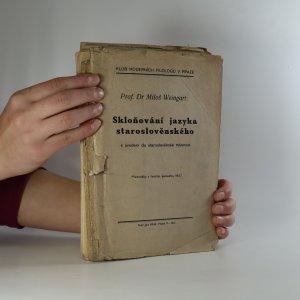 náhled knihy - Skloňování jazyka staroslověnského s úvodem do staroslověnské mluvnice