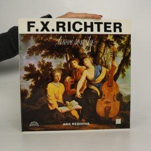 náhled knihy - F. X. Richter: Triové sonáty