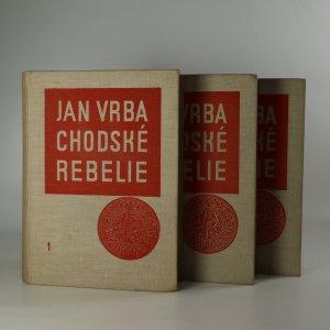 náhled knihy - Chodské rebelie I, II, III (ve třech svazcích, kompletní)